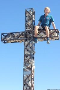 Gipfel Kreuz Plattkoffel